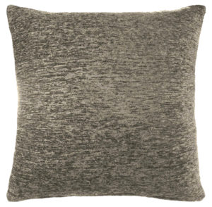 Cushions PLAIN CHENILLE CUSHION COVER BLACK
