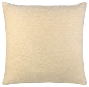 Cushion Covers PLAIN CHENILLE CUSHION COVER CREAM