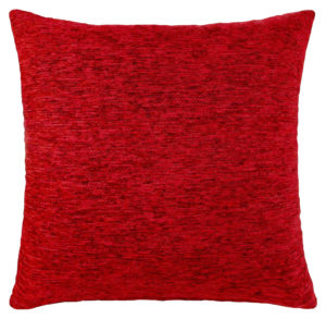 Cushion Covers PLAIN CHENILLE CUSHION COVER RED