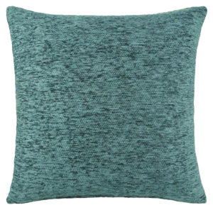 Cushions PLAIN CHENILLE CUSHION COVER TEAL
