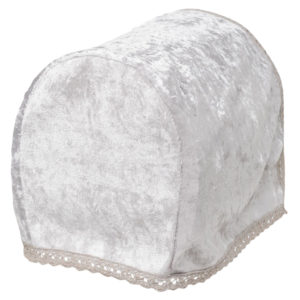 Household CRUSHED VELVET ARMCAP CREAM