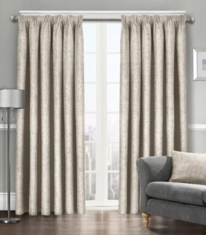 Curtains WESTWOOD DIMOUT THERMAL CURTAINS CREAM