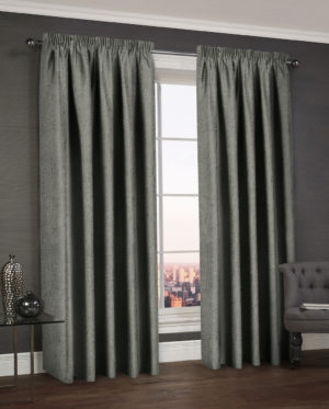 Curtains WESTWOOD DIMOUT THERMAL CURTAINS CHARCOAL