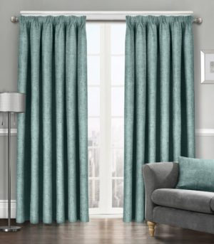 Curtains WESTWOOD DIMOUT THERMAL CURTAINS DUCK EGG
