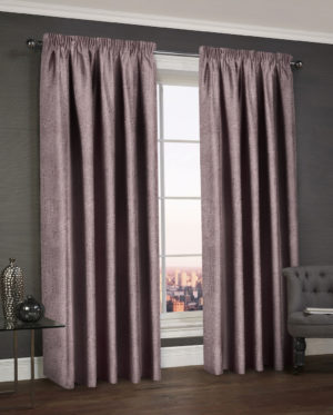 Curtains WESTWOOD DIMOUT THERMAL CURTAINS MAUVE