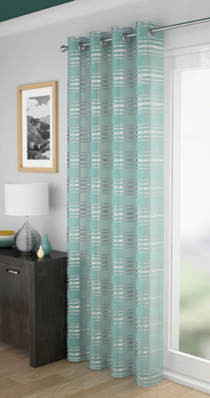 Curtains LEON VOILE DUCK EGG