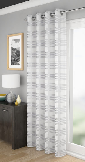 Curtains LEON VOILE WHITE
