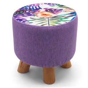 Footstools TROPICAL FLORAL FOOT STOOLS