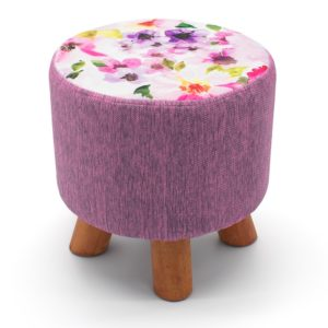 Household BLOOM FLORAL FOOT STOOLS