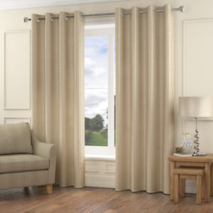 Curtains MADISON RING TOP CURTAINS NATURAL