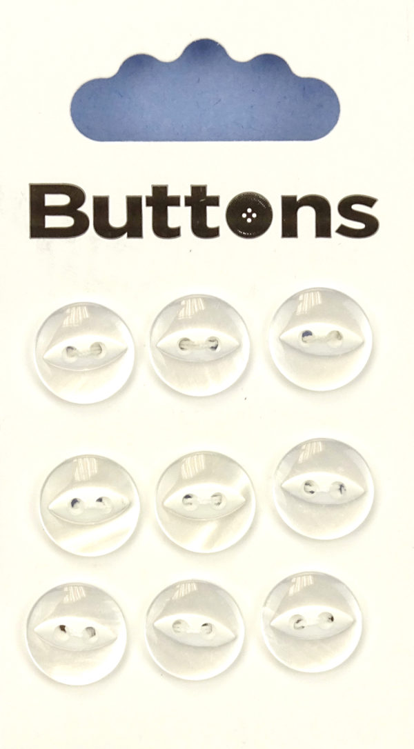 Buttons FISHEYE BUTTONS – CLEAR – 005