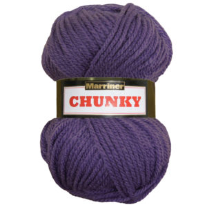 Knit & Sew MARRINER YARNS CHUNKY VIOLET