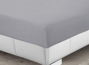 Bedding SHAWSDIRECT 4FT 3/4 BED FITTED SHEET GREY