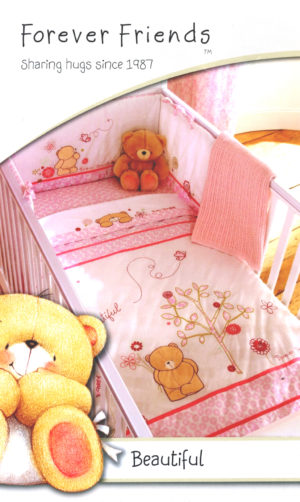 Bedding FOREVER FRIENDS COT BEDDING BALE PINK