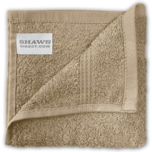 Bathroom PLAIN EGYPTIAN FACE CLOTHS NATURAL