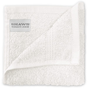 Bathroom PLAIN EGYPTIAN FACE CLOTHS WHITE