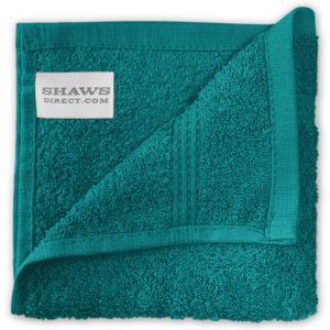 Bathroom PLAIN EGYPTIAN FACE CLOTHS JADE