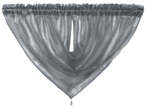 Curtains ALESSANDRIA SWAG CHARCOAL