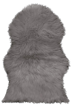 Household FAUX SHEEPSKIN RUG GREY