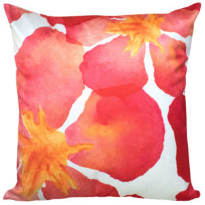Cushions FLORAL CUSHION COVER POPPY BURST