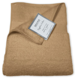 Bathroom PLAIN EGYPTIAN TOWELS NATURAL
