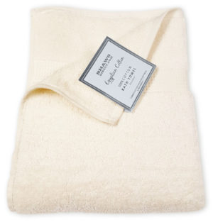 Bathroom PLAIN EGYPTIAN TOWELS CREAM