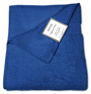 Bathroom PLAIN EGYPTIAN TOWELS ROYAL
