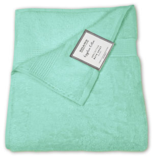 Bathroom PLAIN EGYPTIAN TOWELS SEAFOAM