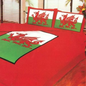Bedding WELSH DRAGON QUILT COVER SET