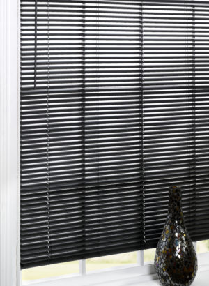 Blinds PVC VENETIAN BLIND BLACK