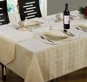 Kitchen & Dining HAMPTON TABLE LINEN CREAM