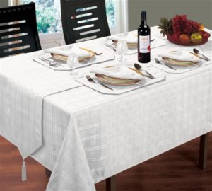 Kitchen & Dining HAMPTON TABLE LINEN WHITE