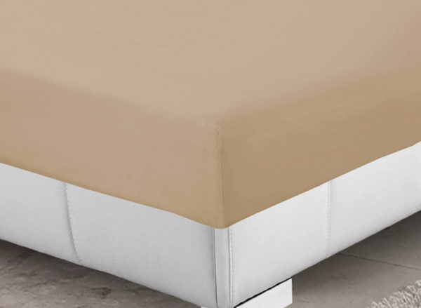 Bedding SHAWSDIRECT FITTED SHEET BEIGE