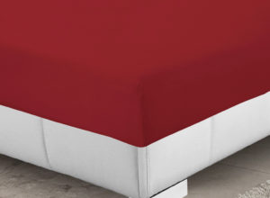 Bedding SHAWSDIRECT FITTED SHEET RED