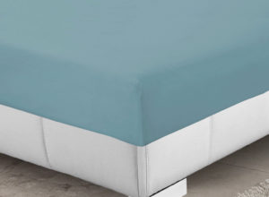 Bedding SHAWSDIRECT FITTED SHEET TEAL
