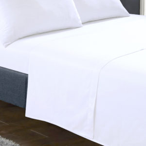 Bedding SHAWSDIRECT FLAT SHEET WHITE