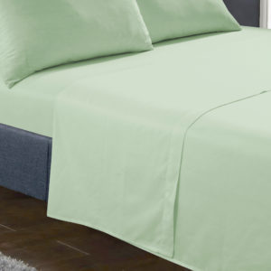 Bedding SHAWSDIRECT FLAT SHEET WILLOW