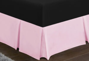 Bedding SHAWSDIRECT PLATFORM VALANCE PINK