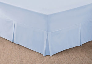 Bedding SHAWSDIRECT FITTED VALANCE SHEET ICE BLUE