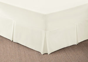 Bedding SHAWSDIRECT FITTED VALANCE SHEET IVORY