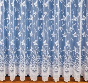 Curtains BUTTERFLY LACE CURTAIN