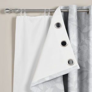 Curtains THERMAL RING TOP EYELET BLACKOUT LININGS