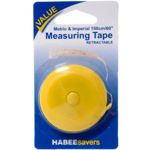 Haberdashery RETRACTABLE MEASURING TAPE
