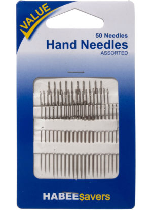Knit & Sew NEEDLES ASSORTED – 50 pack