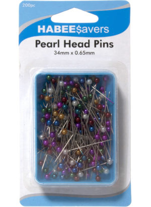 Haberdashery PEARL HEAD PINS 200 PACK