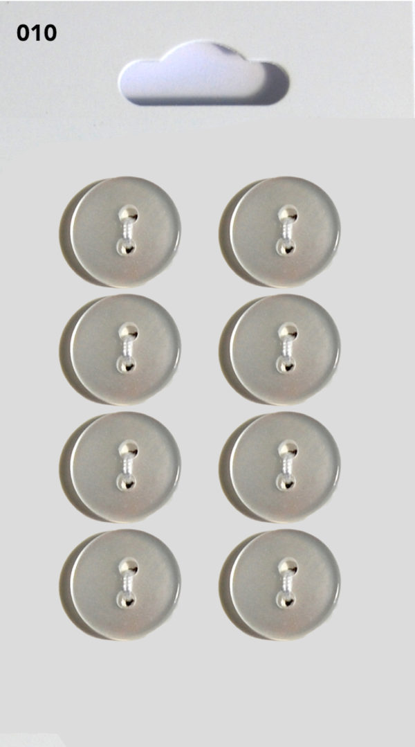 Buttons ROUND BUTTONS – CLEAR – 010