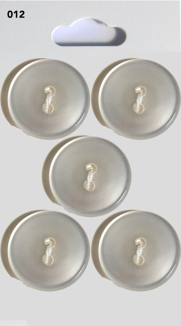 Buttons ROUND BUTTONS – CLEAR – 012