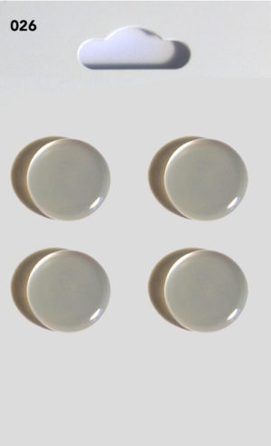 Buttons DOMED BUTTONS – CLEAR – 026