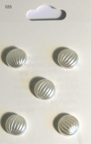 Buttons DOMED BUTTONS – PEARL EFFECT – 035