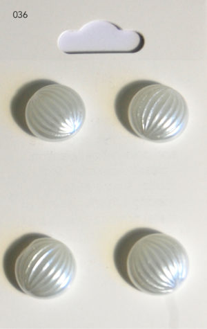Buttons DOMED BUTTONS – PEARL EFFECT – 036